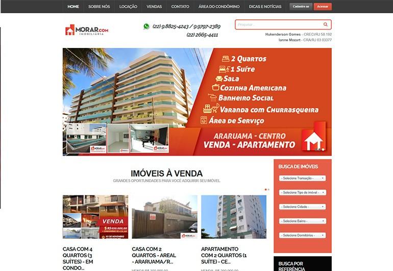 Morar Imobiliária - Site