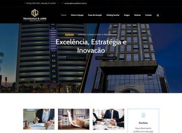 Tranquilli & Loro - Website